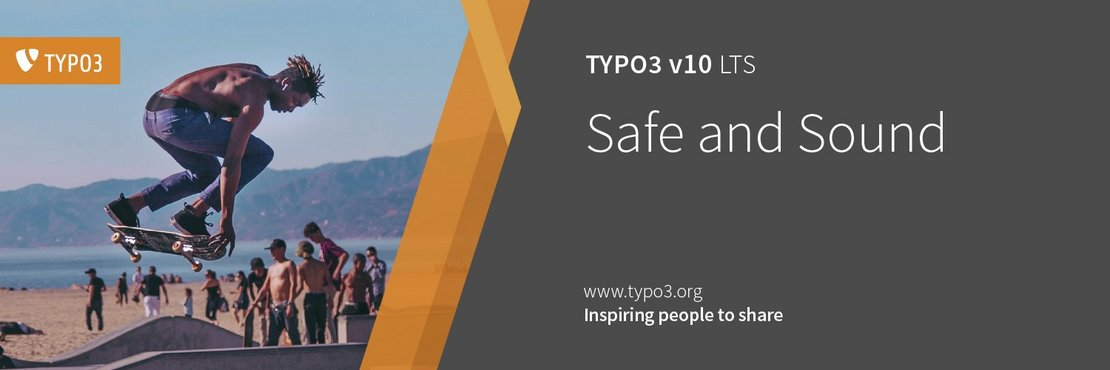 TYPO3 10 - Safe and Sound